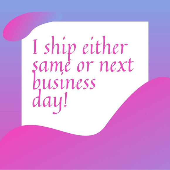 Other - I Ship Same/Next Business Day!
